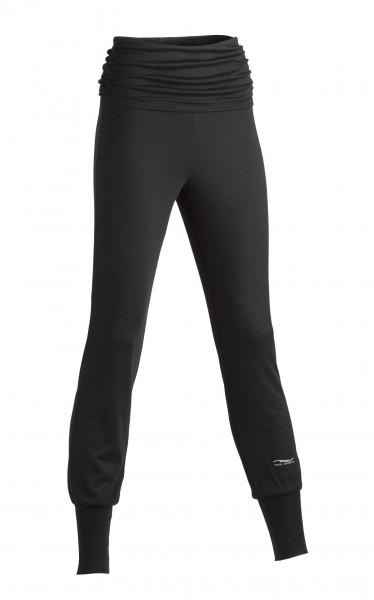 Yoga Hose, schwarz 1 Stadelamann Natur Online Shop
