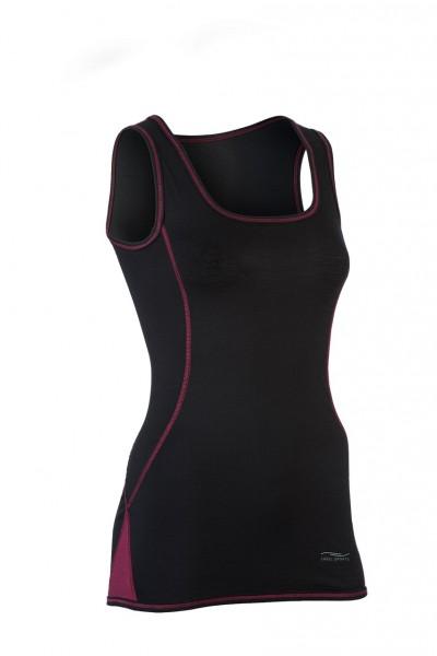 Sport-Tanktop, black/tango red, Engel Sports, Stademann Natur
