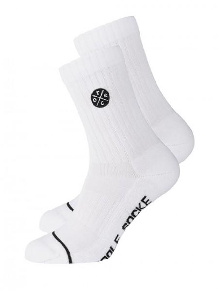"""Socken """"Coole Socke"""", white Stadelmann Natur Online Shop"""