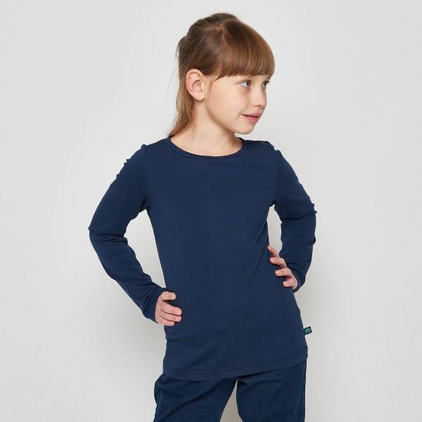 Basic Shirt, navy 1 Stadelmann Natur Online Shop