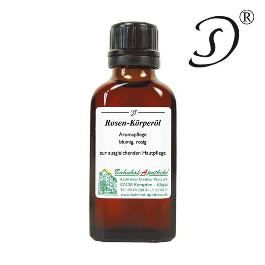 Rosen-Körperöl, 50ml