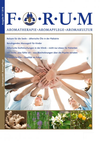 FORUM 51 2018 Aromapflege