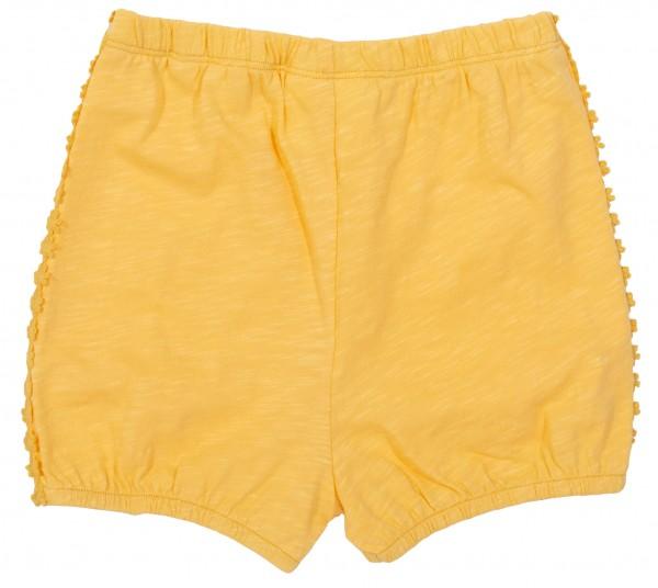 Sommershorts für Mädchen, gelb von Kite Clothing vorn