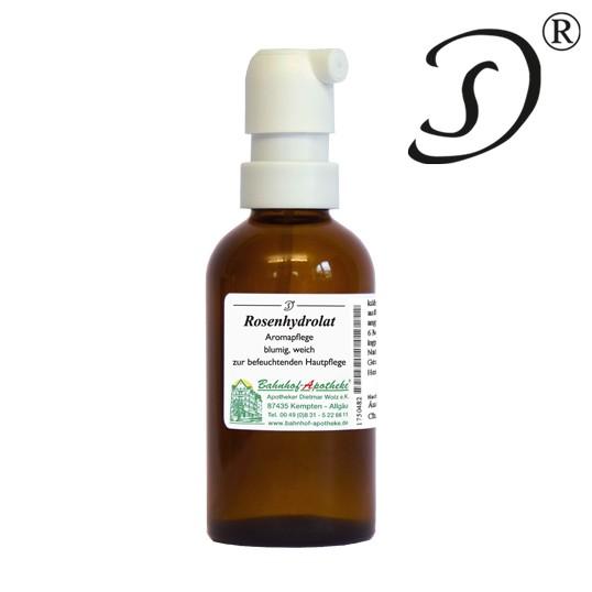 Rosenhydrolat Sprühflasche (Rose alba), 55ml 1 StadelmannNaturOnlineShop
