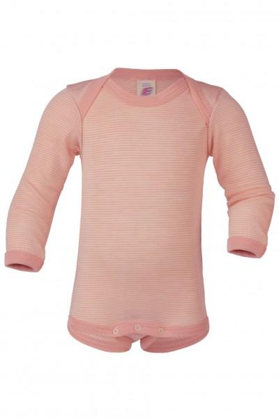 Baby-Body langarm, lachs/natur 1 Stadelmann Natur Online Shop