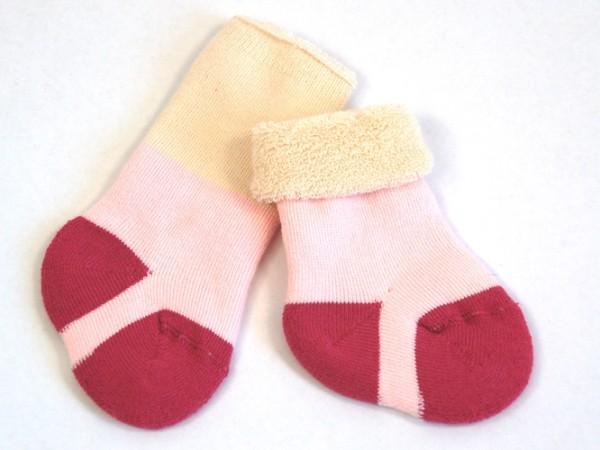 Babysöckchen rosa grödo