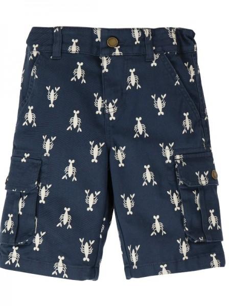 Twill Shorts, indigo aus 97% Bio-Baumwolle, Frugi