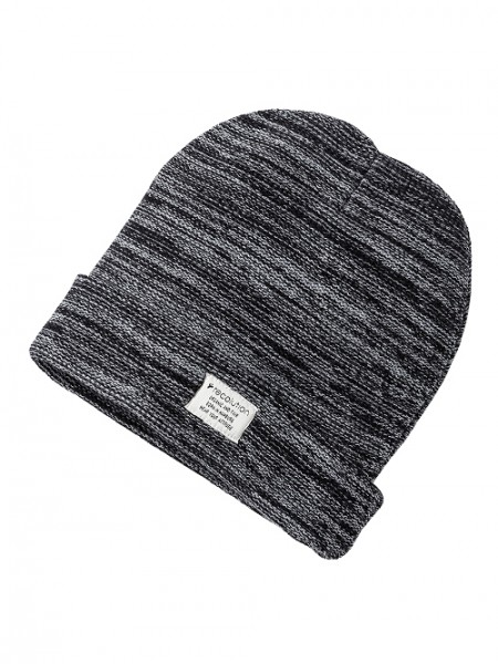 "recolution, Strickmütze ""Beanie Flecked"", black/grey, Stadelmann Natur Shop"