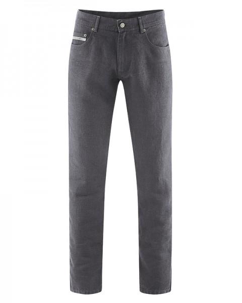 "Unisex-Jeans, Herren Hanf-Jeans ""Rex"", anthrazit, HempAge, Hanfbekleidung, vegan, Männerhose, Damenhose, DH511, Pure Hemp"