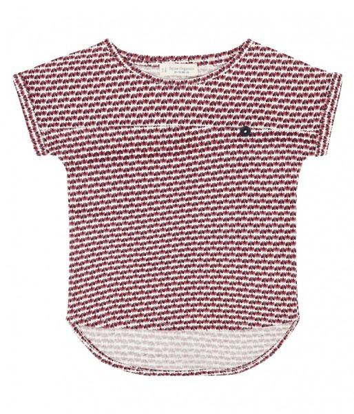 "Kurzarm Shirt ""Enie"", blau/rot/weiß"