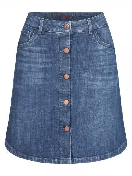 Skirt-Rock A-Shape, blue