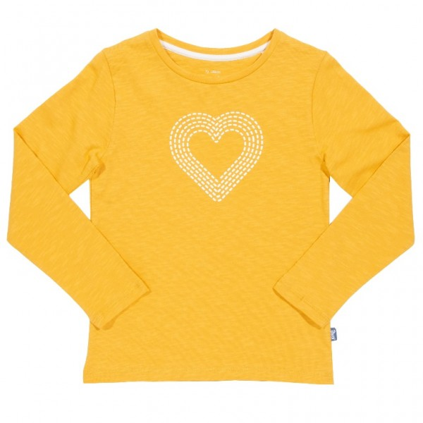 "Longsleeve ""Heart"", gelb, kite"