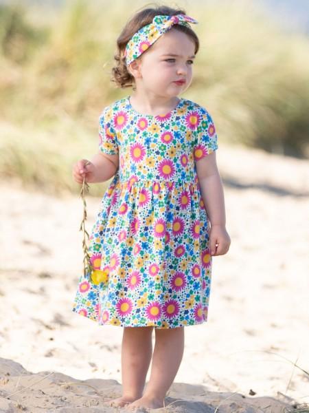 Blumenkleid kurzarm, Sea Breeze von Kite Clothing