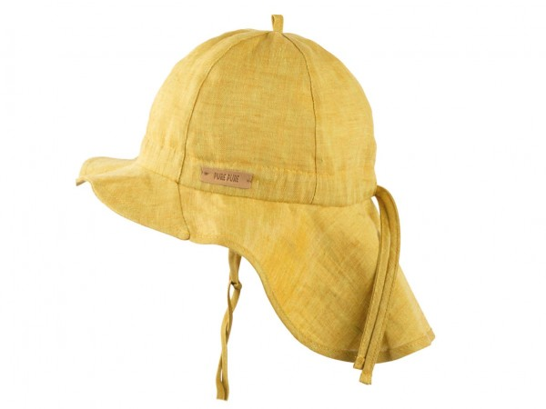 Schirmmütze mit Nackenschutz, mango von pure pure