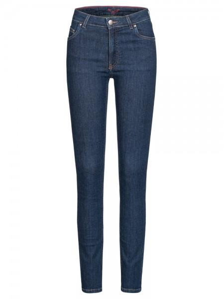 "5-Pocket Skinny Jeans, ""Hanna"", HighWaist, classic blue"