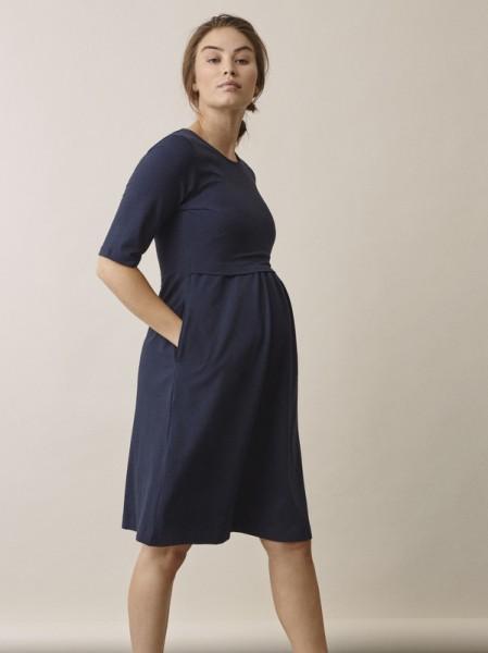 """Umstands-/Stillkleid, """"Linnea Kleid"""", midnight blue"""