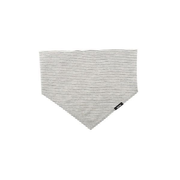 Halstuch Wolle/Seide, grau gestreift, pure pure by Bauer