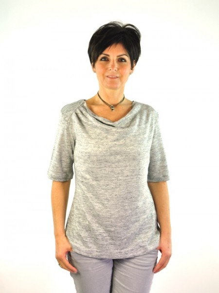 "Shirt ""Mira"", grey, Lana, 7277"
