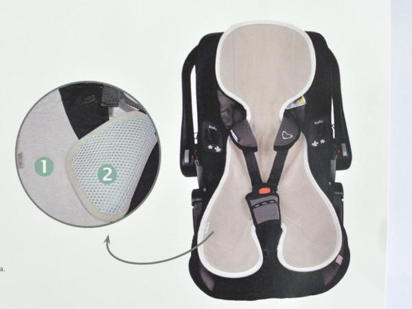 Sitzauflage Autositz 3D, taupe 1 Stadelmann Natur Online Shop