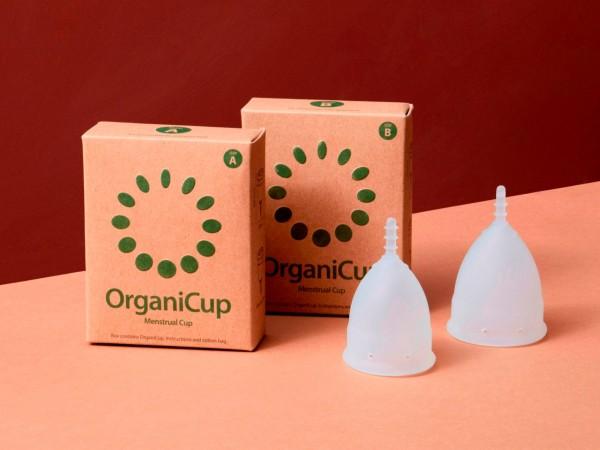 """Menstruationstasse """"OrganiCup"""", natürlich 1 Stadelmann Natur Online Shop"""