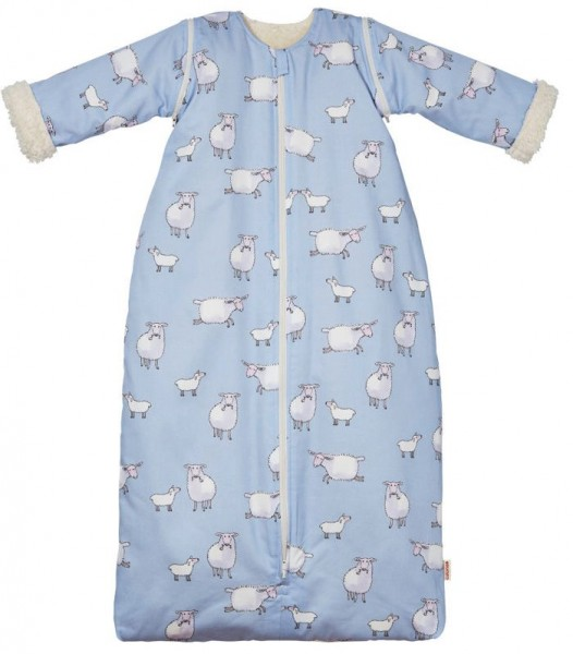 Bio Baby- und Kinderschlafsack, Teddyplüsch 2 Cotonea