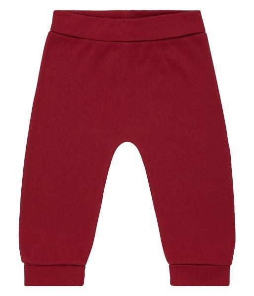 Baby Pant, red, 100% Bio-Baumwoll-Interlock, Sense Organics