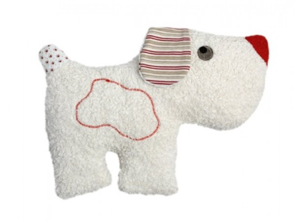 "Rassel ""Hund"", rot 1 Stadelmann Natur Online Shop"