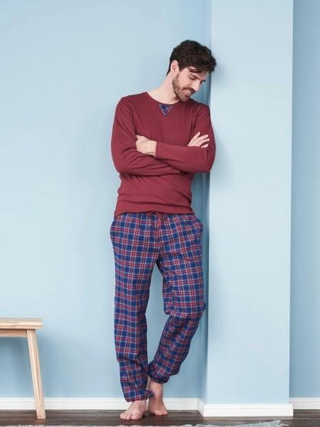 Flanellschlafanzug aus 100% Bio-Baumwolle, kaufen bei Stadelmann Natur