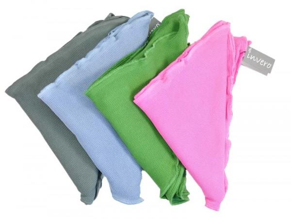 """Dreiecktuch """"Hanni"""" aus 100% BioBaumwolle von Invero Farben"""