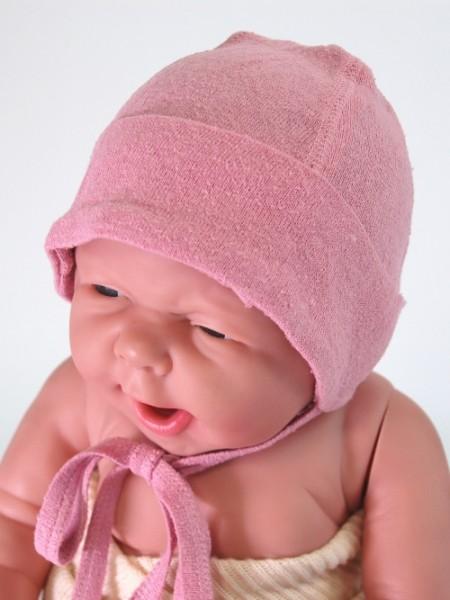 Babymütze rosa Alkena 1