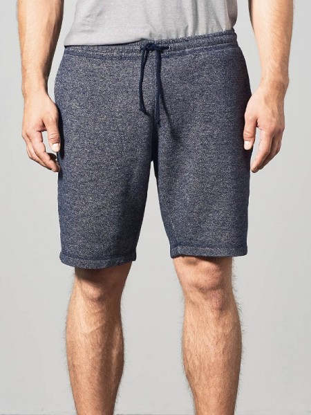 Hanf Shorts, navy-melange