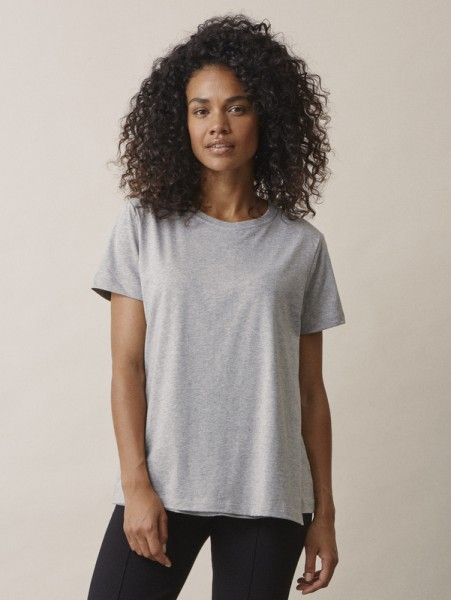 "Umstands-/Stillshirt, ""The-Shirt"", grey melange"