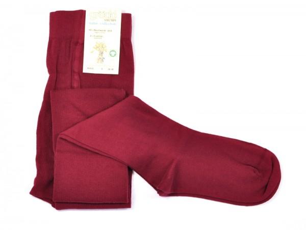 Damenstrumpfhose, burgund