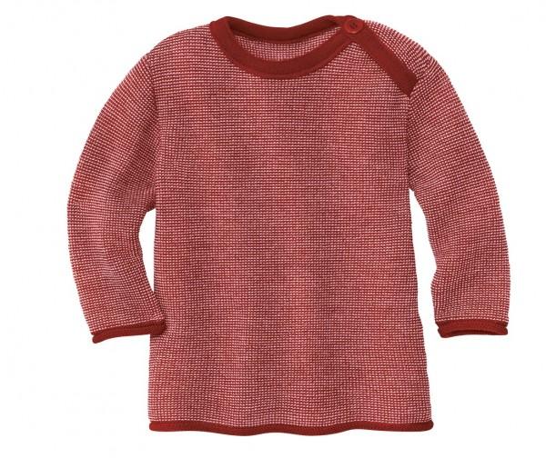 """Strick-Pullover """"Melange"""", bordeaux-rosé 1 Stadelmann Natur Online Shop"""
