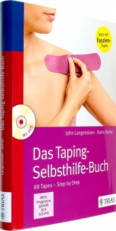 Das Taping Selbsthilfe Buch_Cover schräg