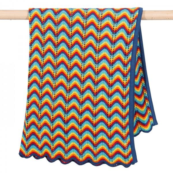 Strickdecke, Regenbogen von Kite Clothing