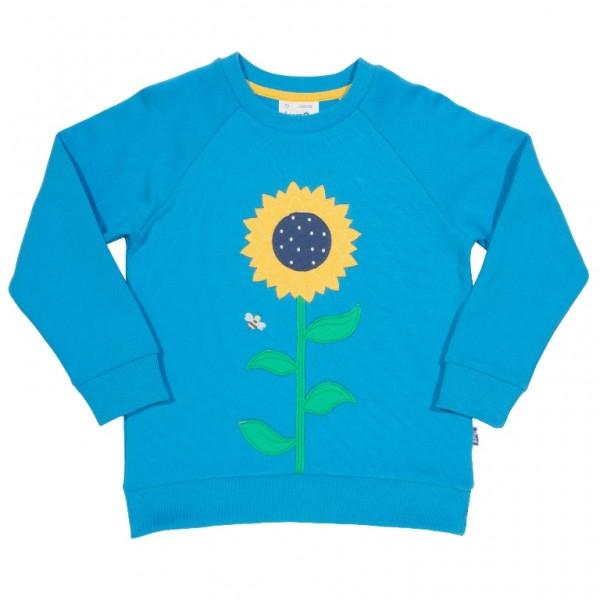 Sonnenblumen-Sweatshirt aus 100% Biobaumwolle von kite
