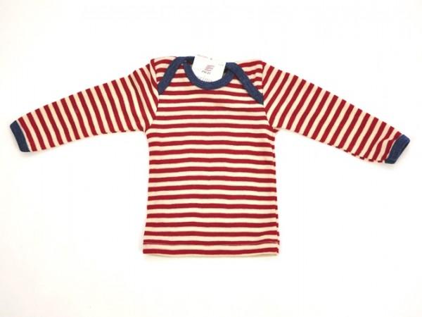 Baby Schlupfhemd, rot melange/natur 1 Stadelmann Natur Online Shop