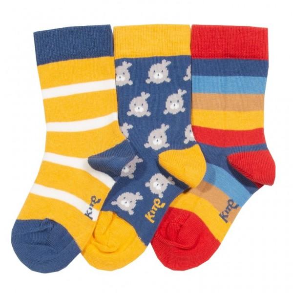 Socks Little Seal aus BioBaumwolle von kite
