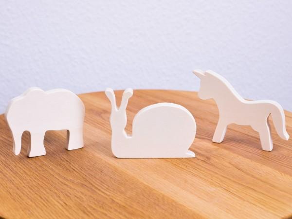 Holzfigur Greifling handmade Allgäu