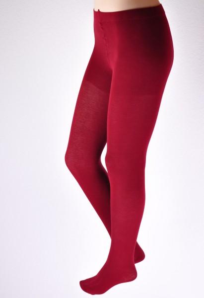 Damen Feinstrumpfhose, burgund