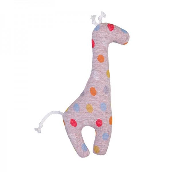 """Baby Rassel """"Giraffe"""", Pünktchen, Stadelmann Natur"""