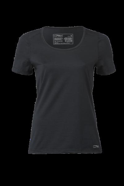 Women´s Shirt Kurzarm, schwarz, Engel Sports