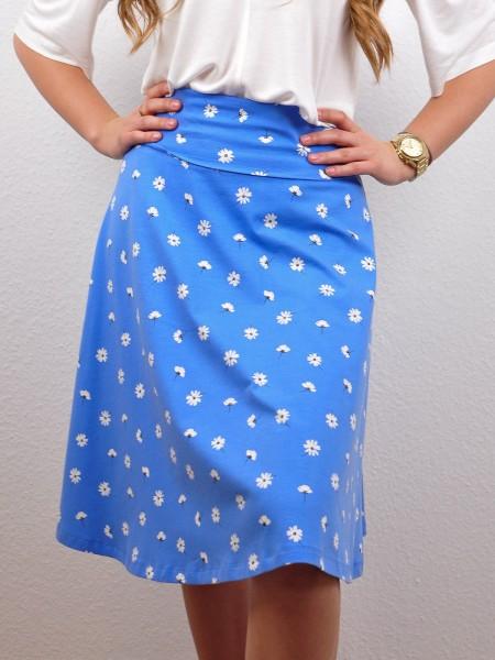 Rock Doreen mit Taschen, shallow blue von Lana 1