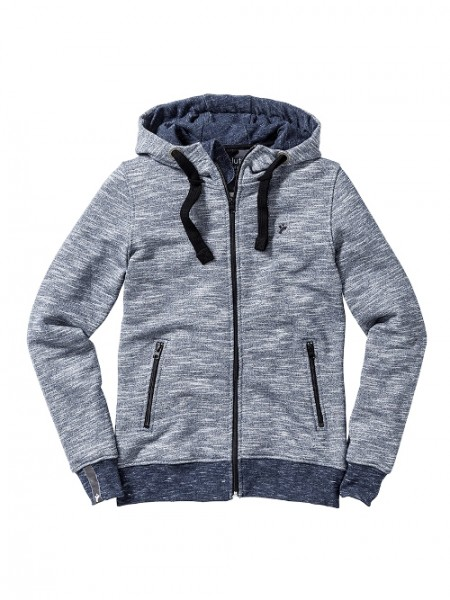 "recolution, Zipper Jacke ""Heavy"", navy/white, Stadelmann Natur"