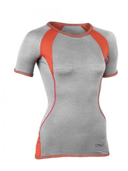 Engel Sports, Sport-Shirt kurzarm, silver stone/spicy, 1, Stadelmann Natur