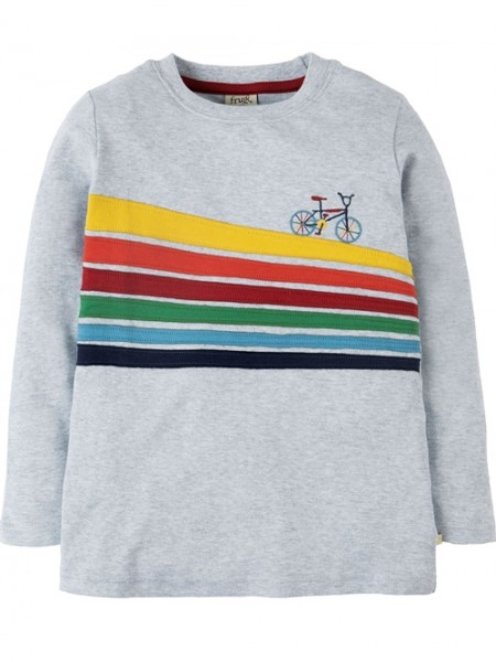 "Langarmshirt ""Bike Trail"", grau bunt 1 Stadelmann Natur Online Shop"