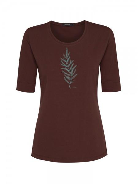 Damen Dreiviertel-Shirt, Pants, braun von GreenBomb 4
