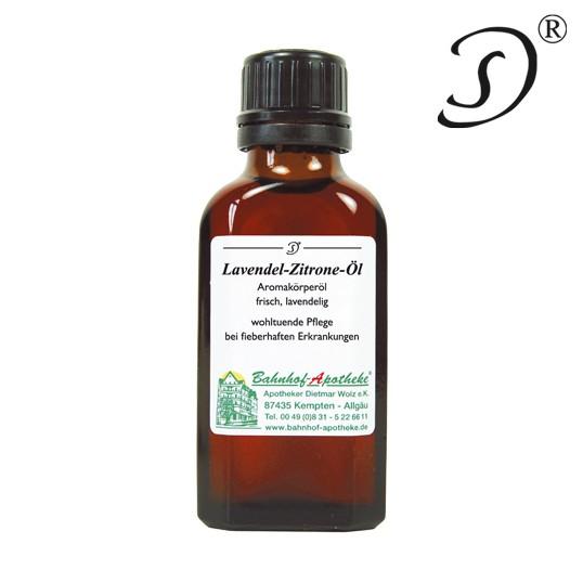 Lavendel-Zitrone Öl, 50ml, Bahnhof Apotheke