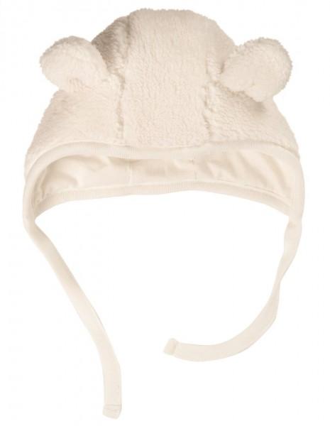 Baby Fleecemütze, soft white, Futter: 100% Baumwolle, Frugi